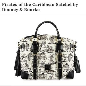 Pirates of the Caribbean satchel dooney and Burke